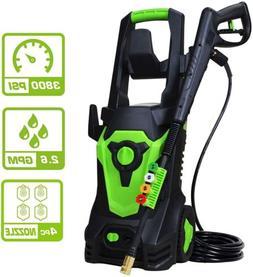 PowRyte Elite 3800 PSI 2.6 GPM Electric Pressure Washer,