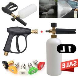 Wash Gun /Snow Foam Bottle/ 5PCS SPRAY NOZZLE Car Foamer Was