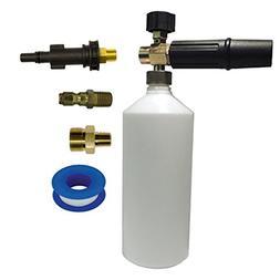 AR Blue Clean Foamer Kit with 34oz Bottle & Blue Clean Fitti