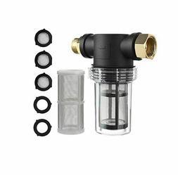 Garden Hose Filter for Pressure Washer Inlet Water for Sedim