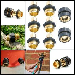 Garden Hose Quick Connector ¾ inch GHT Brass Easy Connect F