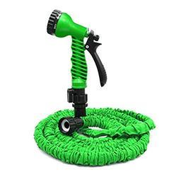 Skyee Garden Hose, Expandable Garden Hose + Spray Nozzle, Li