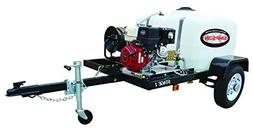 Simpson Professional 3800 PSI  Pressure Washer Trailer w/ H.