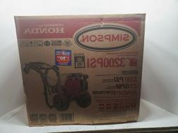 Simpson gas powered pressure washer MS61101, 3200 PSI 2.5 GP