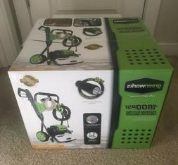 Greenworks GPW1800 Premium Electric Pressure Washer - 1800 P