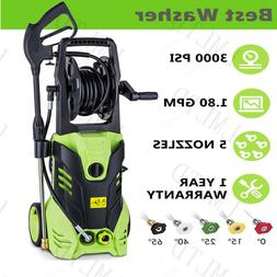 Green Cleaner 3000 PSI 1.8 GPM Cold Water Electric Pressure