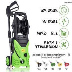 High Power Water Electric Pressure Washer 1800W 1.7 GPM Clea