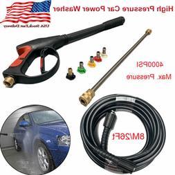 High Pressure Car Power Washer 4000PSI Spray Gun Wand/Lance