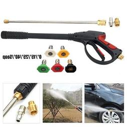 High Pressure Power Washer Spray Gun Wand/Lance&Nozzle Set G