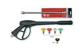 PEGGAS- Pressure Washer Spray Gun, Wand & Nozzle Kit Pressur