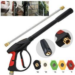 4000PSI High Pressure Car Power Washer Spray Gun Wand Lance
