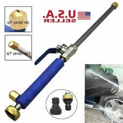 Hydro Jet High Pressure Power Washer Water Spray Gun Nozzle