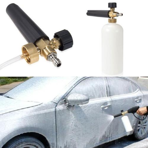 Cannon Gun Pressure Foamer Jet Bottle