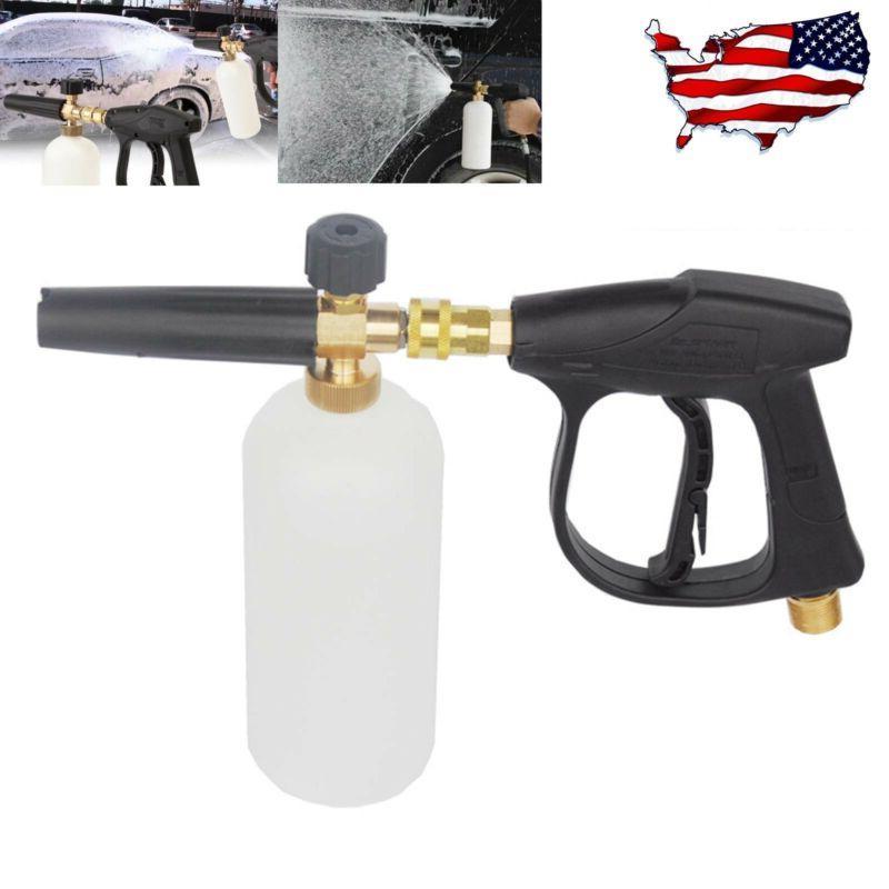 "1/4"" Pressure Snow Foam Washer Jet Car Wash Lance Soap Spray"