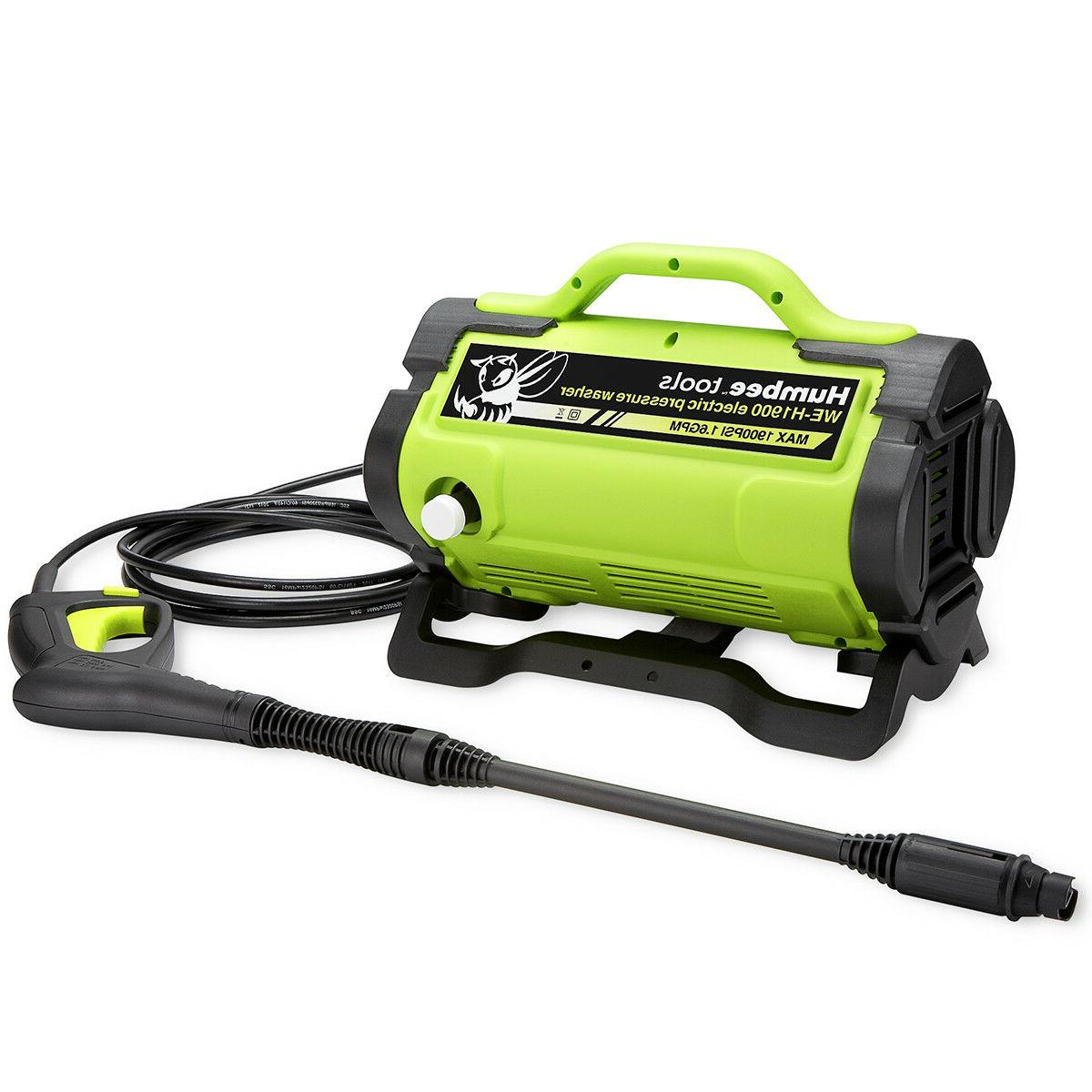 1 900 psi handheld electric pressure washer