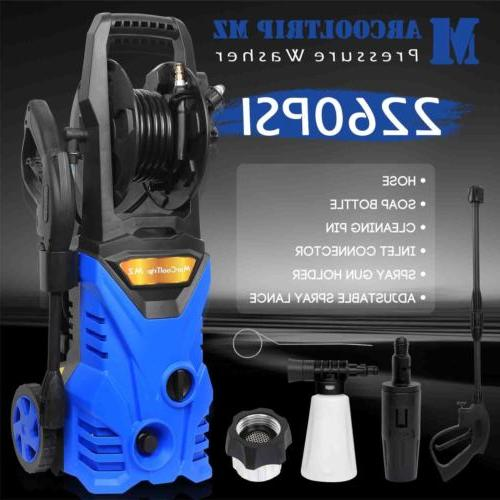 2260 PSI 2.0 GPM Power Water Electric Pressure Washer Kit w/