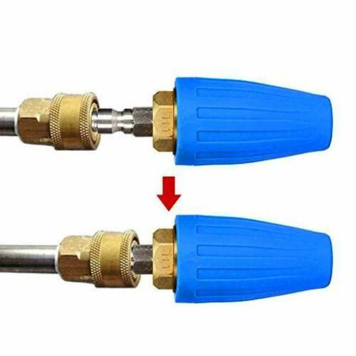 "1/4"" High Pressure Washer Nozzle Spray 2.5-4"