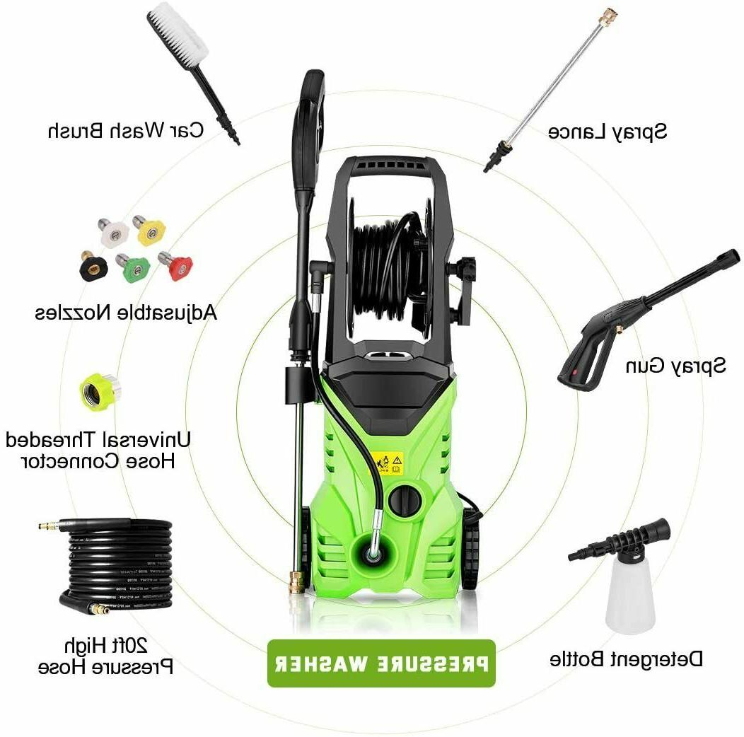 3000PSI Electric Washer Home Power
