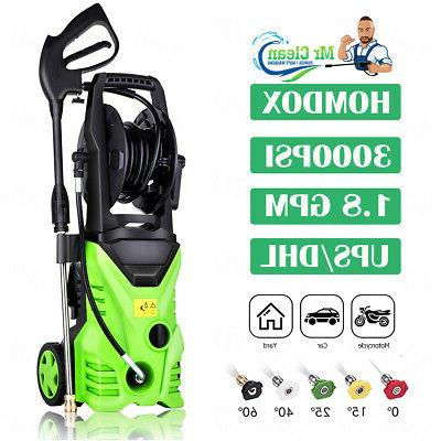 3000psi 1 8gpm electric pressure washer pressure