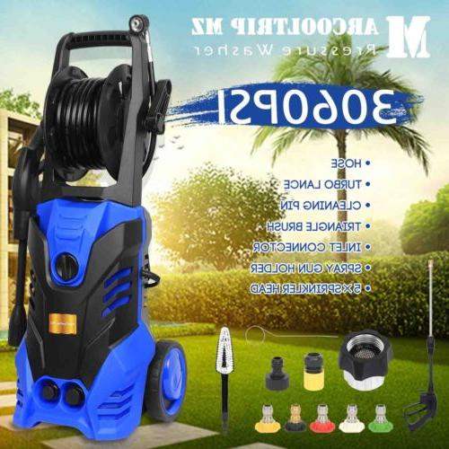 3060 PSI 2.0 GPM Power Water Electric Pressure Washer Kit w/