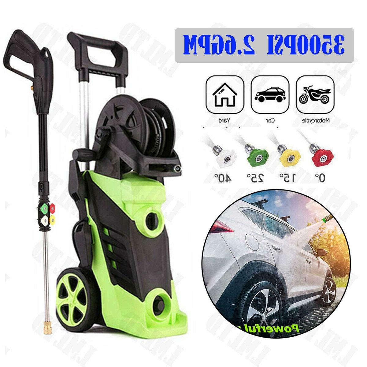3500PSI 2.6GPM Electric Pressure Washer Water Power Cleaner