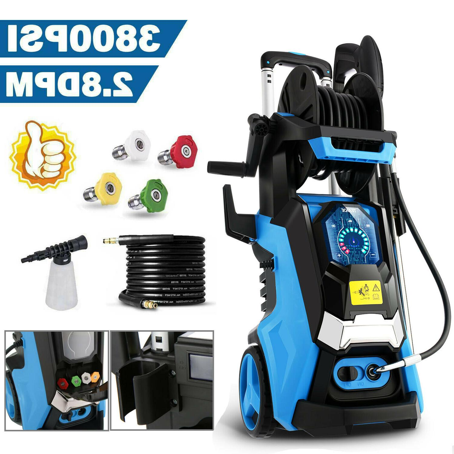 3500psi 2 6gpm electric pressure washer water