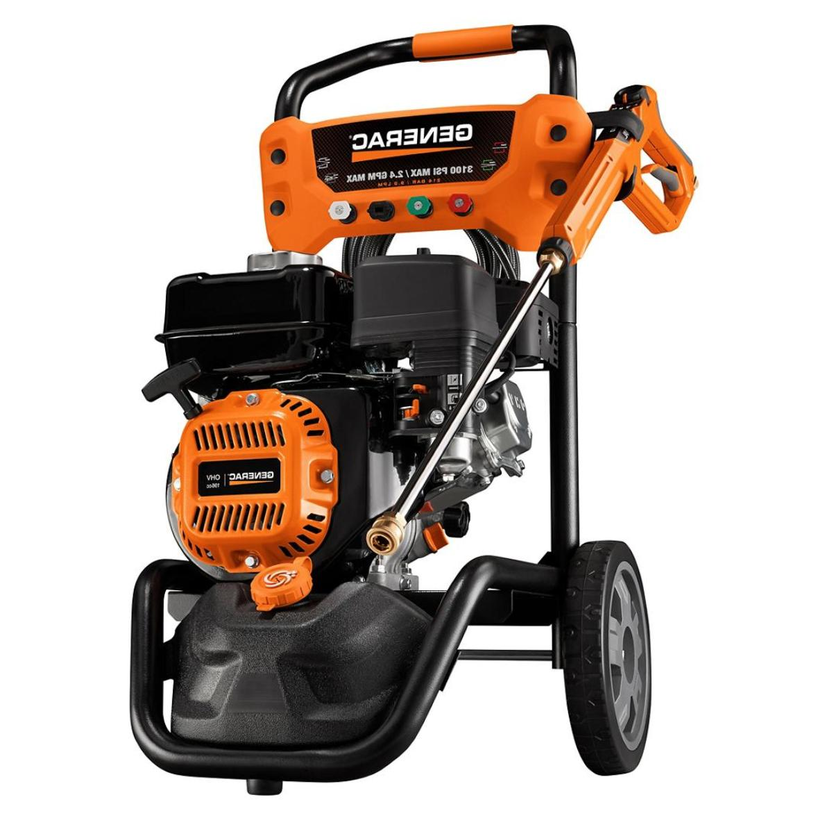 4 gpm residential pressure washer