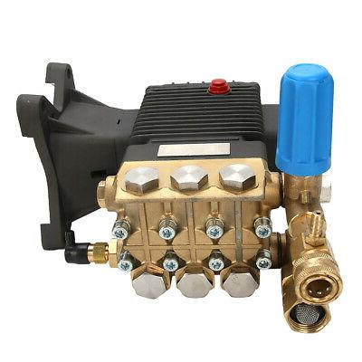 """4000 PRESSURE WASHER Water PUMP replaces -1"""" Shaft"""