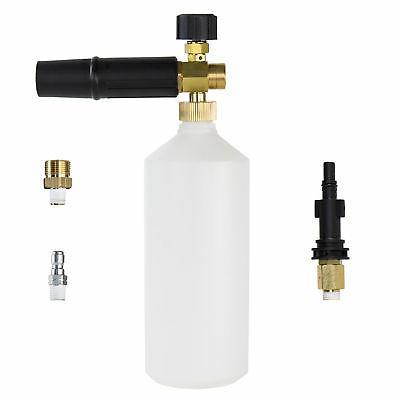 AR Blue Clean Pressure Washer Foamer Cannon Kit w Quick Conn