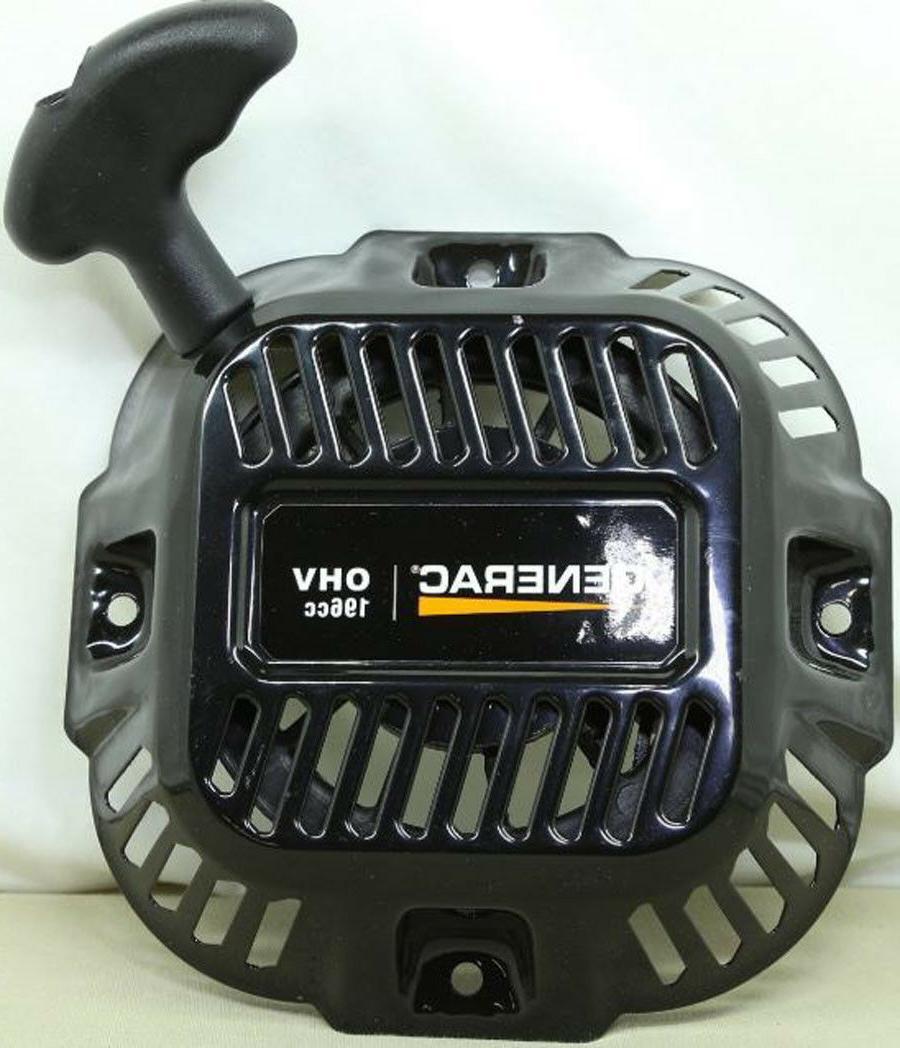 Genuine Generac 0J08070SRV, 196cc Power Pressure Washer Reco