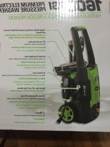 Greenworks 1,600-PSI Cold Water Electric Pressure Washer 1.2