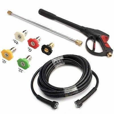High Pressure Spray Nozzle Water Gun Kit Set Perfect for Hon