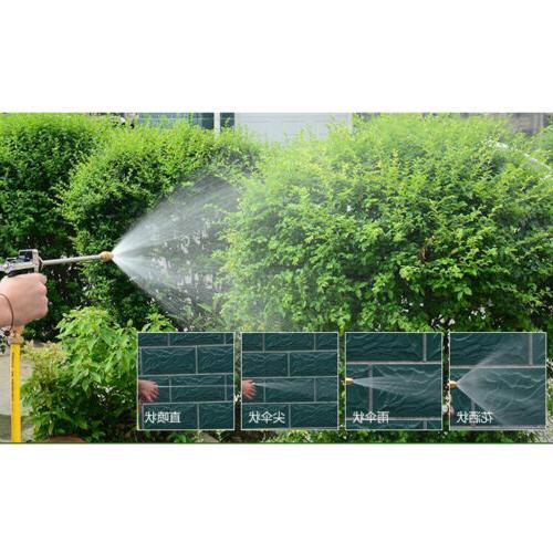 High Gun Brass Nozzle Garden Hose Wash