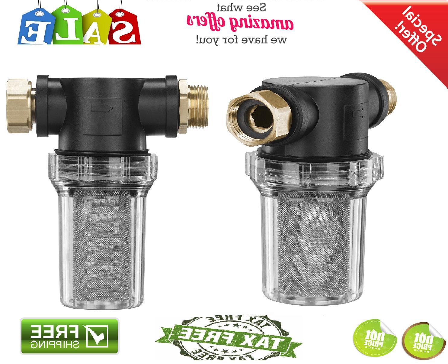 Inlet Filter Water Garden Hose spigot PF31089 Protect Pressu
