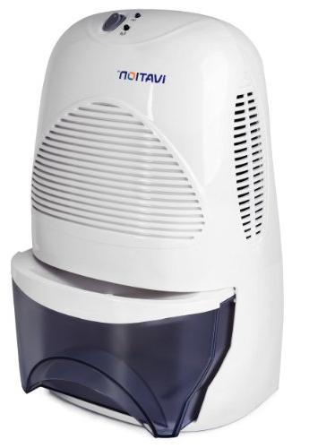 Ivation IVADM35 Mid-Size Thermo-Electric Dehumidifier Quietly Gathers Ounces of Day Bath Room, Basement, Attic, Boats, Rv Ect Spaces Up To Cubic Feet