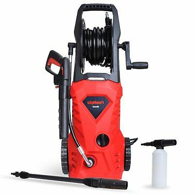 PowRyte 1600 PSI 1.6 GPM Electric Pressure Washer, Power Was