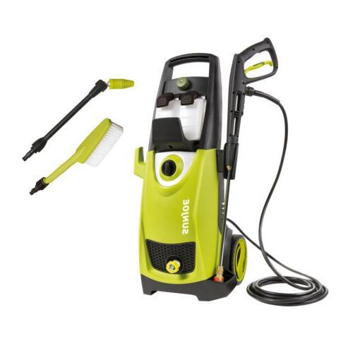 Sun Joe SPX3000 Pressure Washer Bundle | Utility Brush | Spr