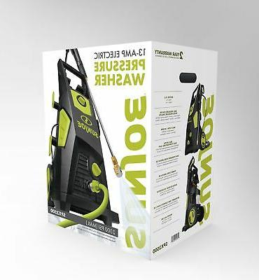 Sun SPX3500 1.48 GPM Brushless Induction Electric Pressure Washer,