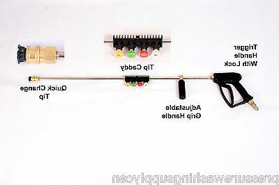 """Suttner Pressure Washer Gun Kit ST-1500 Assembly 36"""" W/ Tip"""