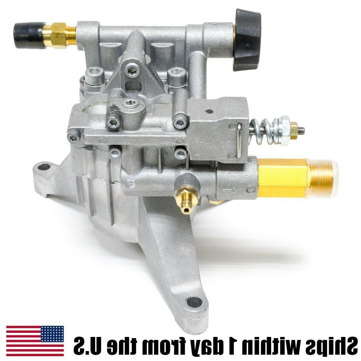 Vertical Pressure Washer Water Pump 2.4GPM 2700psi 308653025