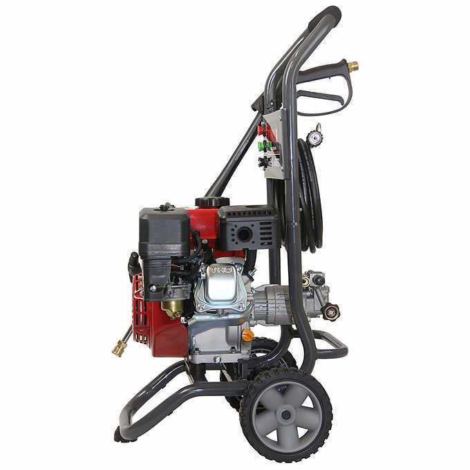 A-iPower High 2700 PSI 2.3 GPM Gas Warranty