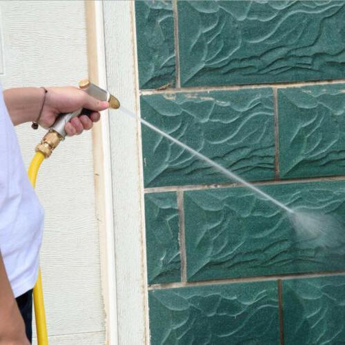 Aluminium Water Gun Garden Lawn Spray Pipe Pressure Nozzle H