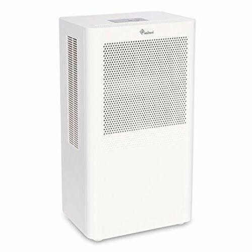 Ivation Small-Area Compact Dehumidifier with Continuous Drai