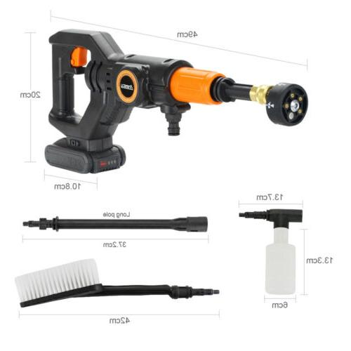 Cordless Cleaner 320PSI 2.0A & Charger