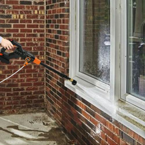 Cordless Pressure Washer 2.0A Battery &