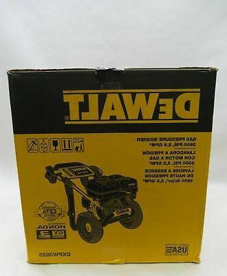 Dewalt DXPW3625 3600 2.5 Gas Pressure Washer