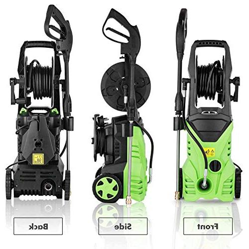 Flagup Pressure Washer, Professional Machine with Nozzles, Rolling GPM