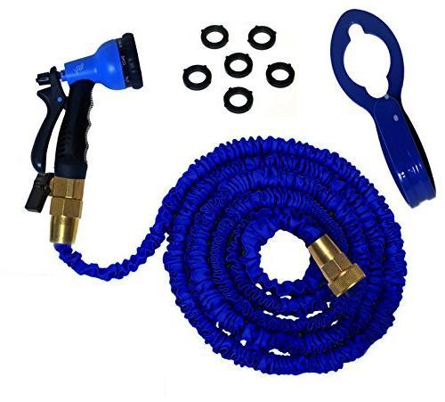 expandable hose kit shut valve