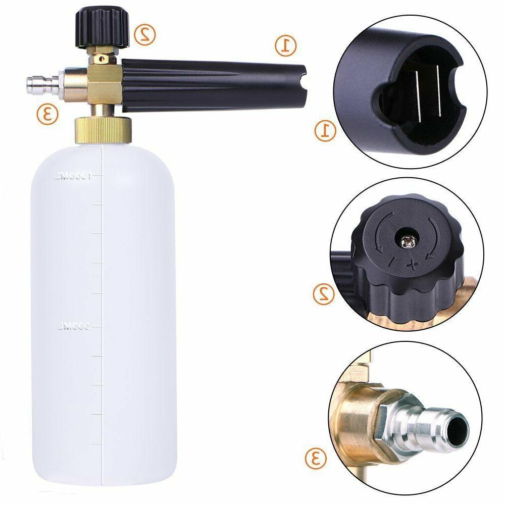 Foam For Pressure Washer Jet