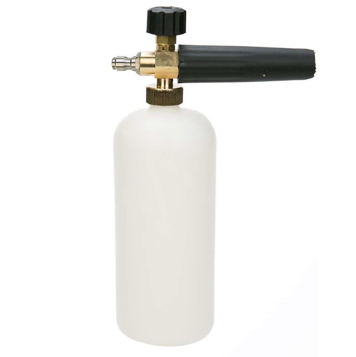 foam cannon bottle lance for pressure washer